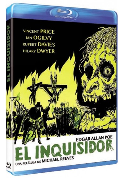 El Inquisidor (Blu-Ray) (Witchfinder General)