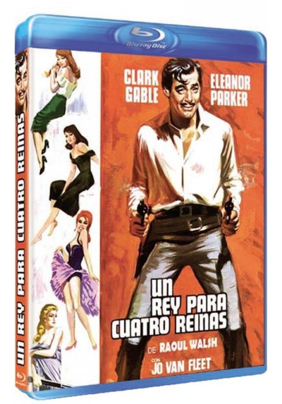 Un Rey Para Cuatro Reinas (Blu-Ray)(The King And Four Queens)