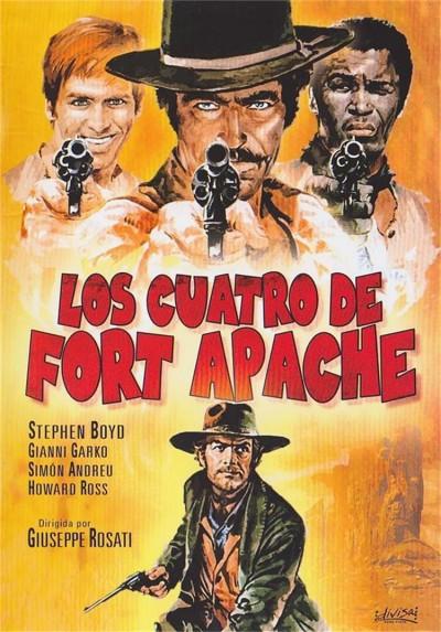 Los Cuatro De Fort Apache (Campa Carogna... La Taglia Cresce)