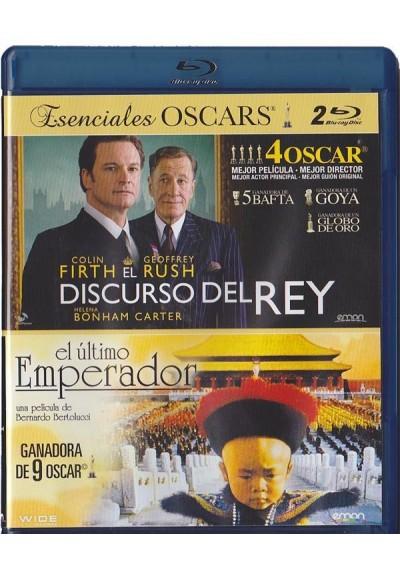 Doble Esenciales OSCARS - El Discurso Del Rey / El Ultimo Emperador (Blu-Ray)