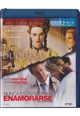 Doble Sesion Romantica - La Duquesa / Nunca Es Tarde Para Enamorarse (Blu-Ray)