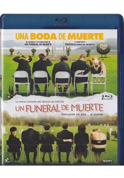 Doble Sesion Comedia - Una Boda De Muerte / Un Funeral De Muerte (Blu-Ray)