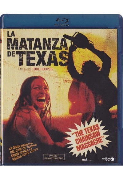 La Matanza De Texas (1974) (Blu-Ray)(The Texas Chain Saw Massacre)