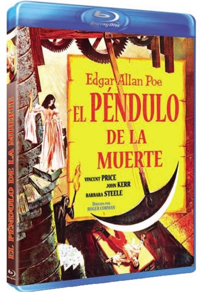 El Pendulo De La Muerte (Blu-Ray)(BD-R)(The Pit And The Pendulum)
