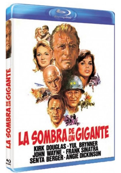 La Sombra De Un Gigante (Blu-Ray)(Cast A Giant Shadow)