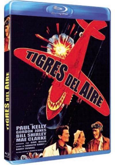 Tigres Del Aire (Blu-Ray)(Flying Tigers)