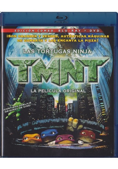 Las Tortugas Ninja : La Pelicula (Blu-Ray + Dvd)(Teenage Mutant Ninja Turtles)