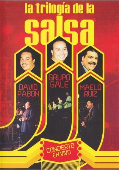 La Trilogia De La Salsa En Vivo - David Pabon, Grupo Gale Y Maelo Ruiz