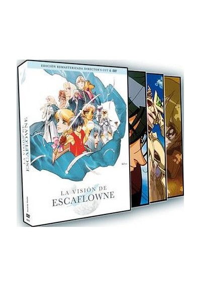 La Vision De Escaflowne - Serie Completa (Remasterizada Director´s Cut)
