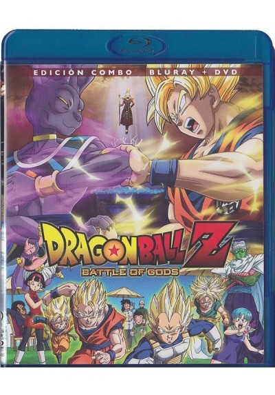 Dragon Ball Z : Battle Of Gods (Doragon Bôru Z: Kami To Kami) (Blu-Ray + Dvd)