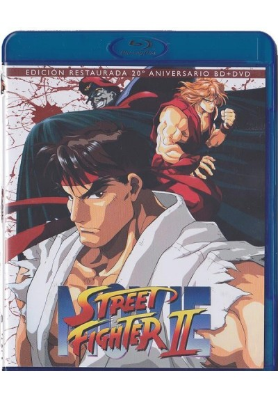 Street Fighter II (Blu-Ray + Dvd) (Ed. Coleccionista)