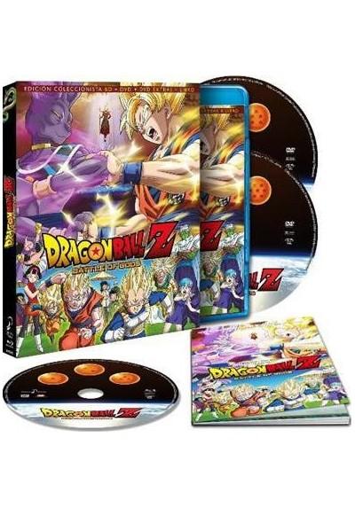Dragon Ball Z : La Batalla De Los Dioses (Blu-Ray + Dvd +   Libro)