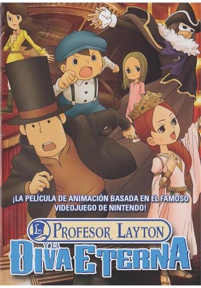 Profesor Layton Y La Diva Eterna (Eiga Reiton-Kyôju To Eien No Utahime)