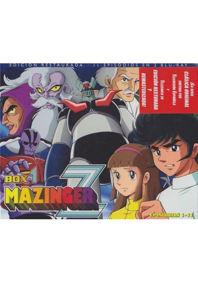 Mazinger Z - Box 1 (Blu-Ray) (Ed. Horizontal)