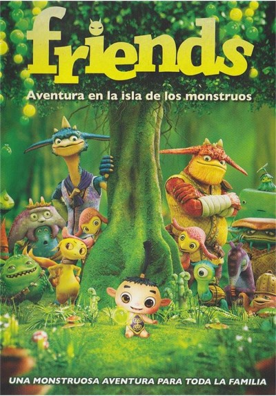 Friends : Aventura En La Isla De Los Monstruos (Friends: Naki On The Monster Island)