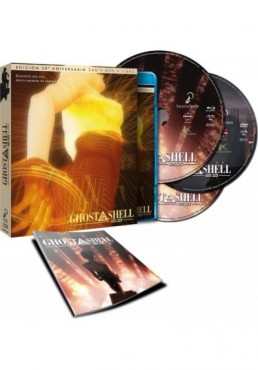 Ghost In The Shell 2.0 (Blu-Ray + Dvd) (Ed. 20º Aniversario)
