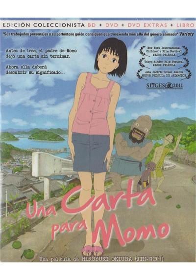 Una Carta Para Momo (Blu-Ray + Dvd + Dvd Extras + Libro)