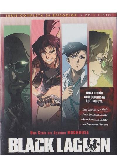 Black Lagoon - Serie Completa (Blu-Ray + Libro)