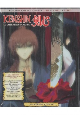 Kenshin : El Guerrero Samurai (Ed. Coleccionista) (Blu-Ray + DVD + Libro)