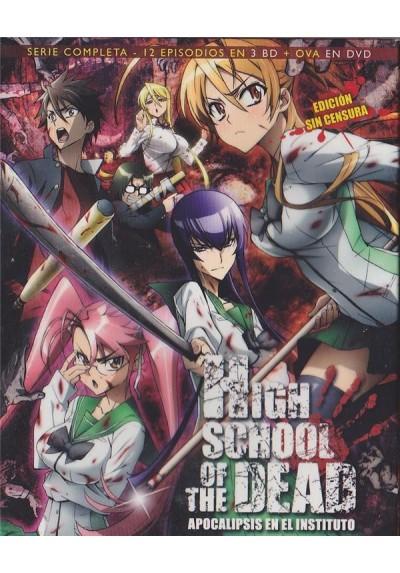 High School Of The Dead - Serie Completa + Ova (Blu-Ray)