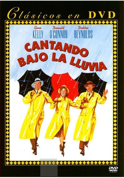 Cantando Bajo la Lluvia - Clásicos en DVD