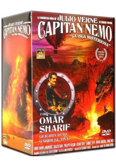 """Capitán Nemo """"La Isla Misteriosa"""""""