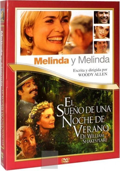 Pack Melinda y Melinda + El Sueño de una Noche de Verano de William Shakespeare