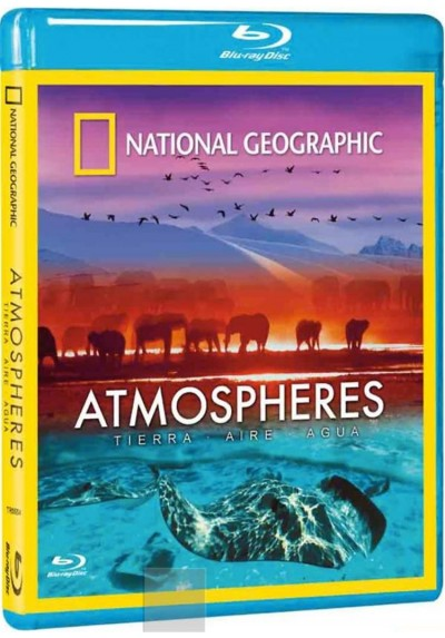 Atmospheres Tierra, Aire, Agua - Blu-ray (National Geographic)