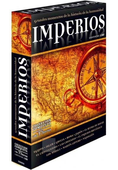 Pack Imperios, Colección Completa 12 Dvd's