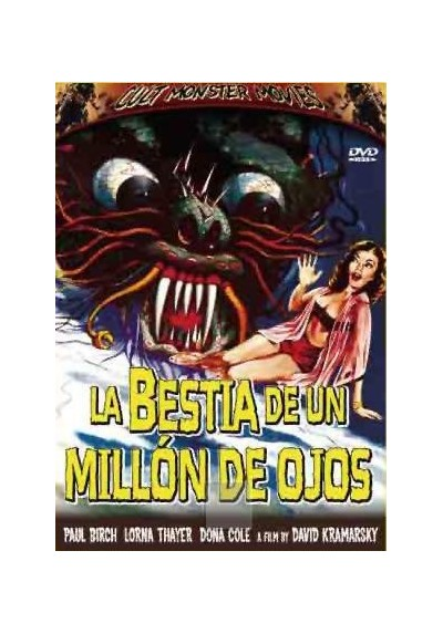 Cult Monster Movies - La Bestia de un Millón de Ojos