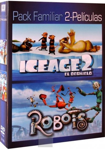 Pack Ice Age 2 El Deshielo + Robots