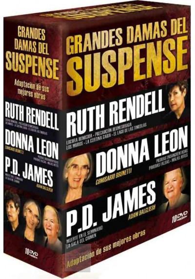 Pack Grandes Damas del Suspense
