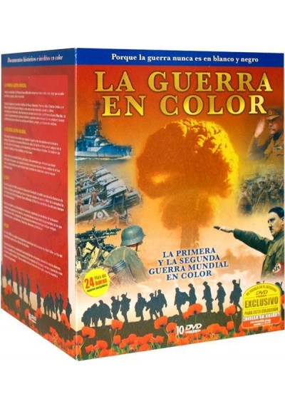 Pack La Guerra en Color