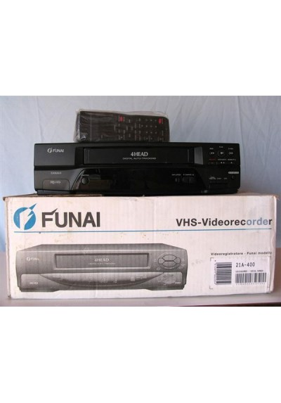 VIDEO VHS - FUNAI 19A-400 - USADO-