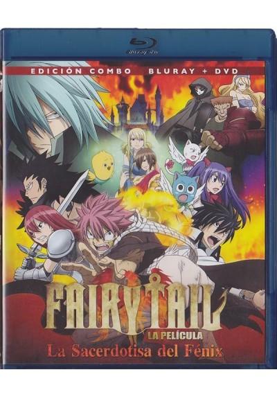 Fairy Tail - La Sacerdotisa Del Fenix (Blu-Ray + Dvd)
