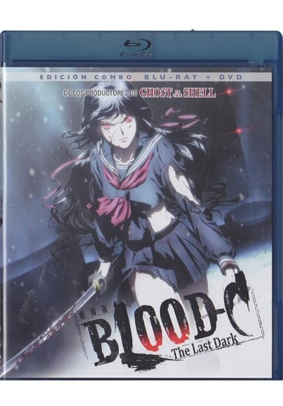 Blood C : The Last Dark (Blu-Ray + Dvd) (Gekijouban Blood-C: The Last Dark)