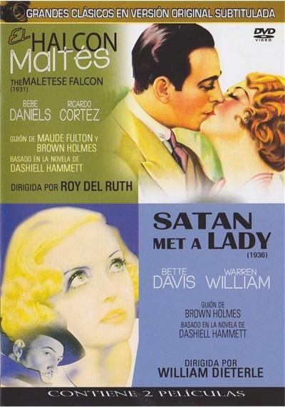 El Halcon Maltes 1931 & El Halcon Maltes (Satan Met a lady) 1936 (V.O.S.)