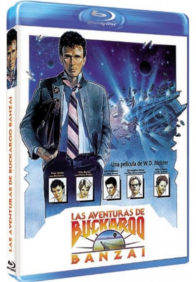 Las Aventuras De Buckaroo Banzai (Blu-Ray) (The Adventures Of Buckaroo Banzai Across The 8th Dimension)