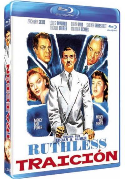 Traicion (Blu-Ray) (Ruthless)