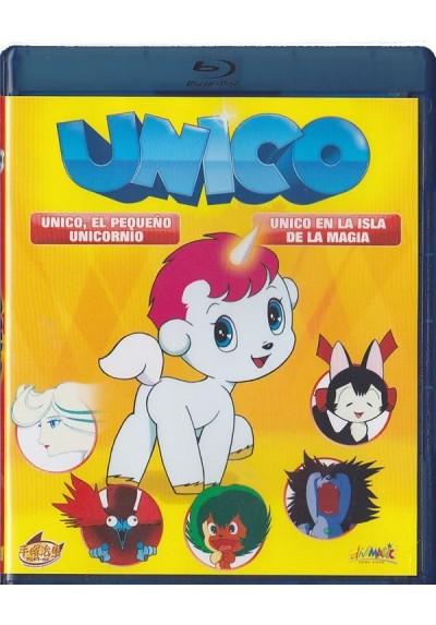 Unico, El Pequeño Unicornio / Unico En La Isla De La Magia (Blu-Ray)