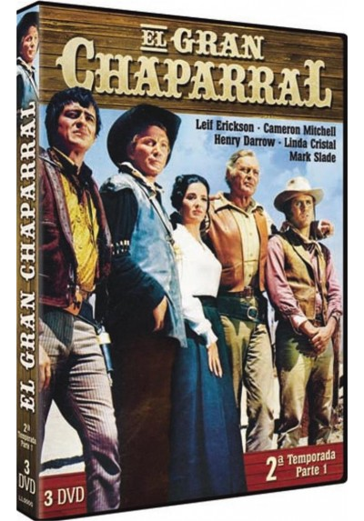 El Gran Chaparral : 2ª Temporada - Parte 1 (The High Chaparral)