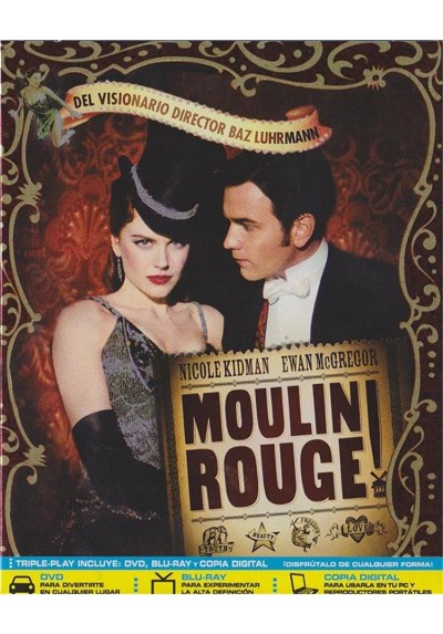 Moulin Rouge (Blu-Ray + Dvd)