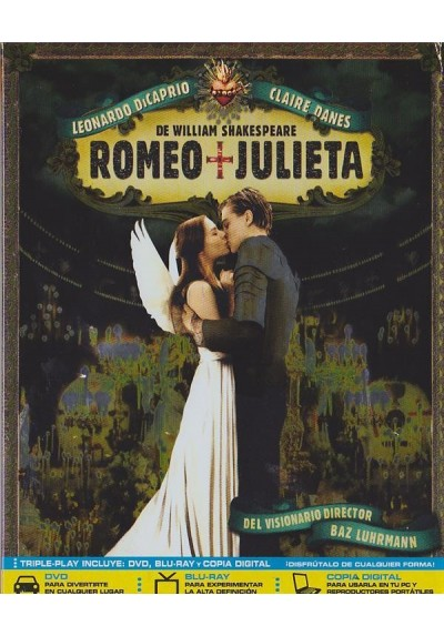 Romeo Y Julieta (1996) (Blu-Ray + Dvd)
