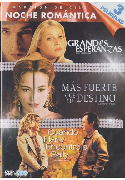 Noche Romantica : Grandes Esperanzas / Mas Fuerte Que Su Destino / Cuando Harry Encontro A Sally