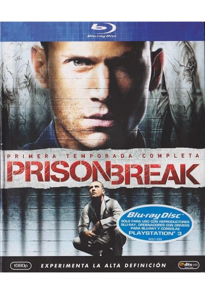 Prison Break - 1ª Temporada (Blu-Ray)