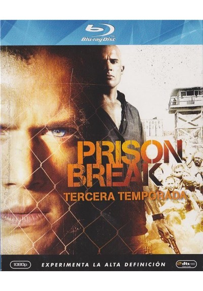 Prison Break - 3ª Temporada (Blu-Ray)