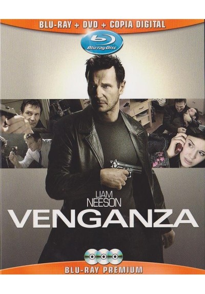 Venganza (Blu-Ray + Dvd + Copia Digital)