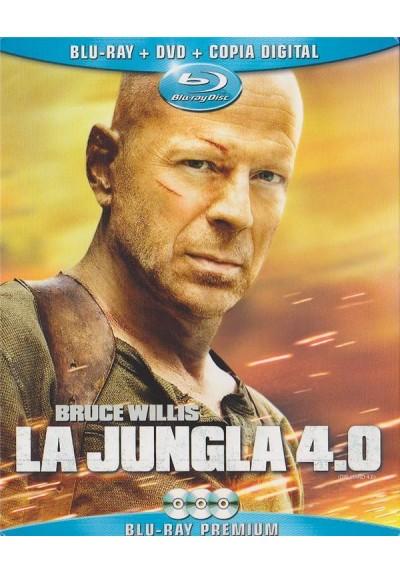 La Jungla 4.0 (Blu-Ray + Dvd + Copia Digital)