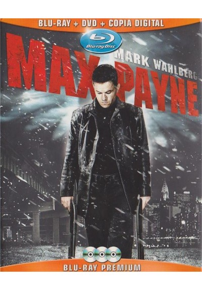 Max Payne (Blu-Ray + Dvd + Copia Digital)