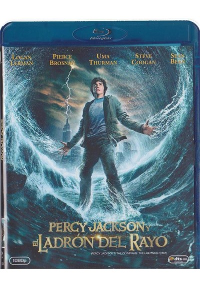 Percy Jackson Y El Ladron Del Rayo (Blu-Ray + Dvd)(Percy Jackson & The Olympians: The Lightning Thief)